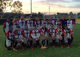 Ducks Power USA to World Cup Victory