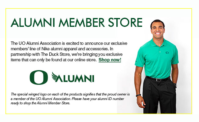Clothes stores. Alumni clothing store