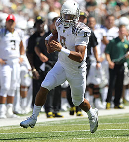 UO Alumni - Mariota and Grasu Announce They Will Return to