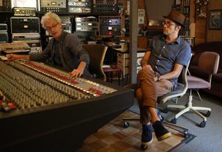 Bill Barnett and Steve Perry at Gung Ho Studios