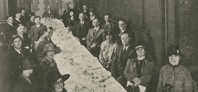 Mabel Byrd meets with Arnold Bennett Hall in New York