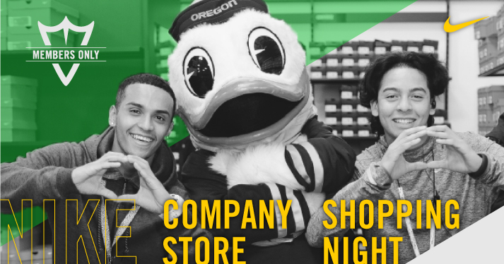 Members-Only Nike Company Store Shopping Night